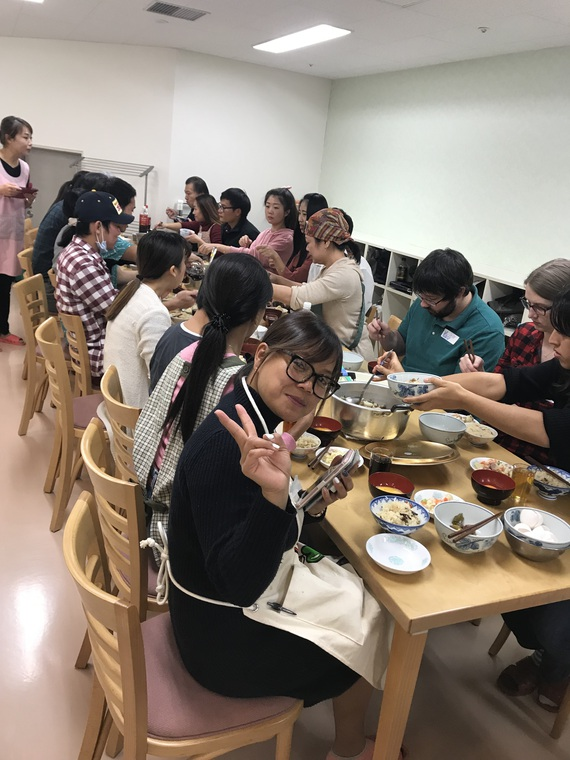2018's Japanese Cooking Class was a Success!