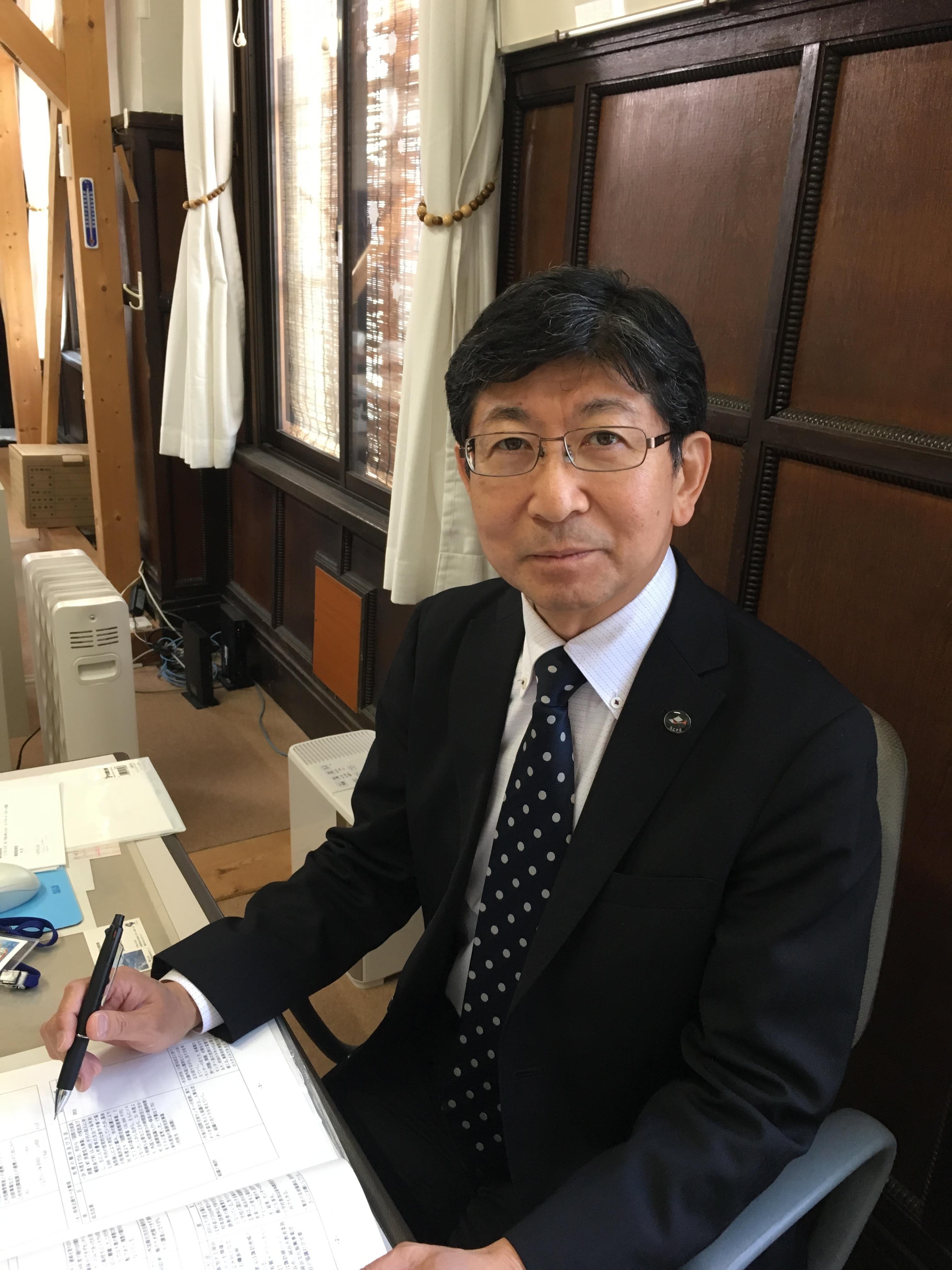 小口道生センター長.JPG